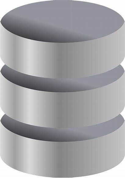 Storage Data Disk Database Cylinder Metal Graphic