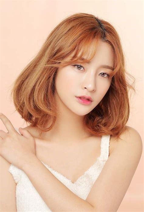 2019 popular semi long hairstyles korean