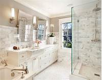 white marble bathroom DIY Diva: Save Money and Install Your Own Tiles – Tips from the Pros ...
