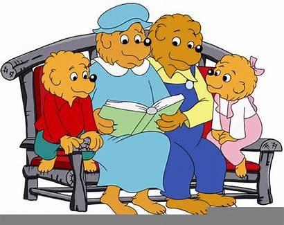 Bears Berenstain Clipart Characters Books Children Bear