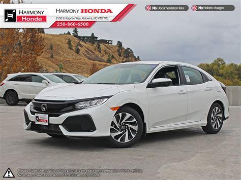 honda civic 4 door new 2018 honda civic hatchback lx 4 door car in kelowna
