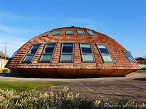 en images a vendre maison tournesol en bois With maison bois ronde tournante