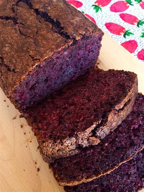 easy blackberry bread recipe  fresh blackberries