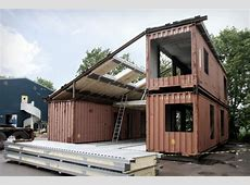 Modern Recycled Home Made of Shipping Containers – Tiny
