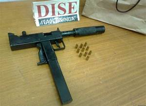 Common Illicitly Homemade Submachine Guns In Brazil