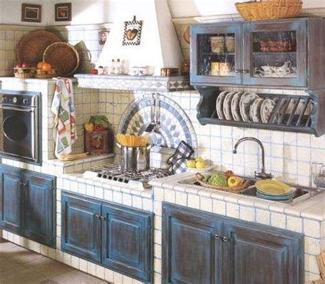 italian country kitchen cucine in finta muratura foto 5 40 design mag 1997