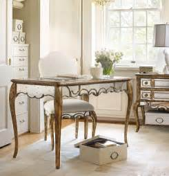 furniture home office 48 1 4 inch mirrored writing desk 5199 10482