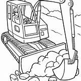 Coloring Construction Digger Truck Vehicles Excavator Drawing Trucks Getcolorings Equipment Rivera Diego Drawings Getdrawings Printable Clipartmag Colorings Printables sketch template