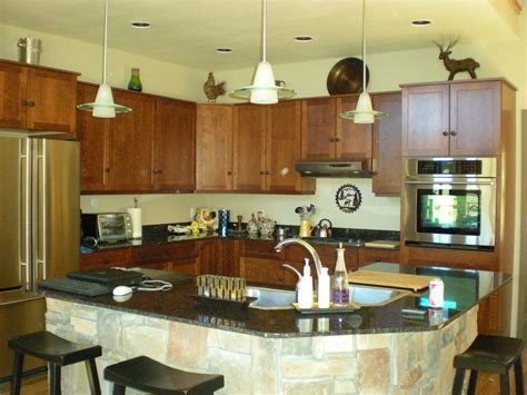 Portable Kitchen Island With Sink by Kitchen With Corner Pantry And Sink In Island Floor