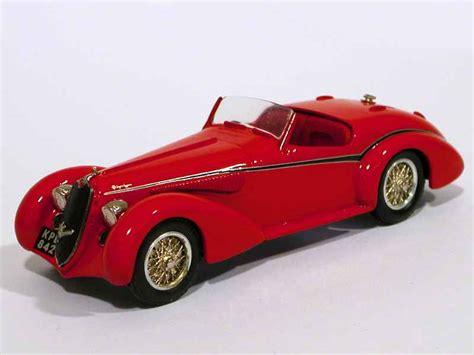 Western Model Cars  Alfa Romeo 8c 2900b Spyder  143 Ebay