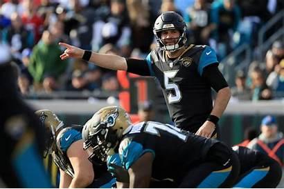 Jaguars Jacksonville Blake Bortles Simms Quarterback Broncos