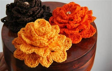 easy crochet flowers  beginners diy