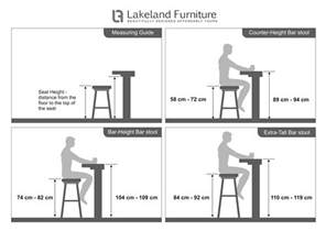 bar stool size guide what height and width should it be