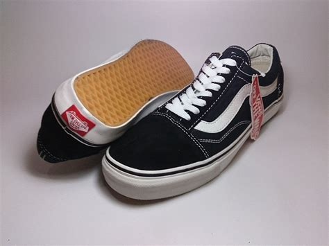 sepatu vans authentic black new vans skool classic black white shoes shop id