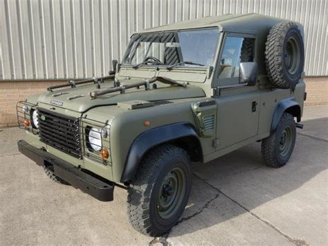 land rover military defender land rover defender 90 wolf hard top remus ex military
