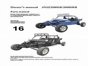 Joyner Sr2-sr5 Buggy - Wiring Diagram