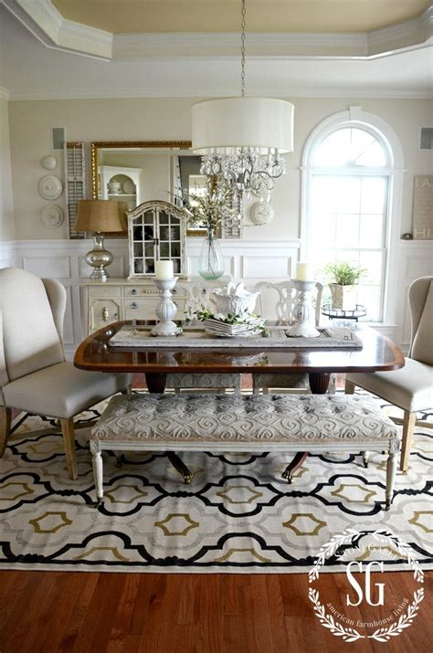 5 Rules For Choosing The Perfect Dining Room Rug  Stonegable