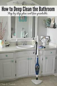 how to deep clean a bathroom with steam homeright With proper way to clean a bathroom