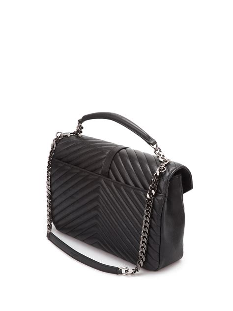 saint laurent borsa monogram  catena borse  spalla