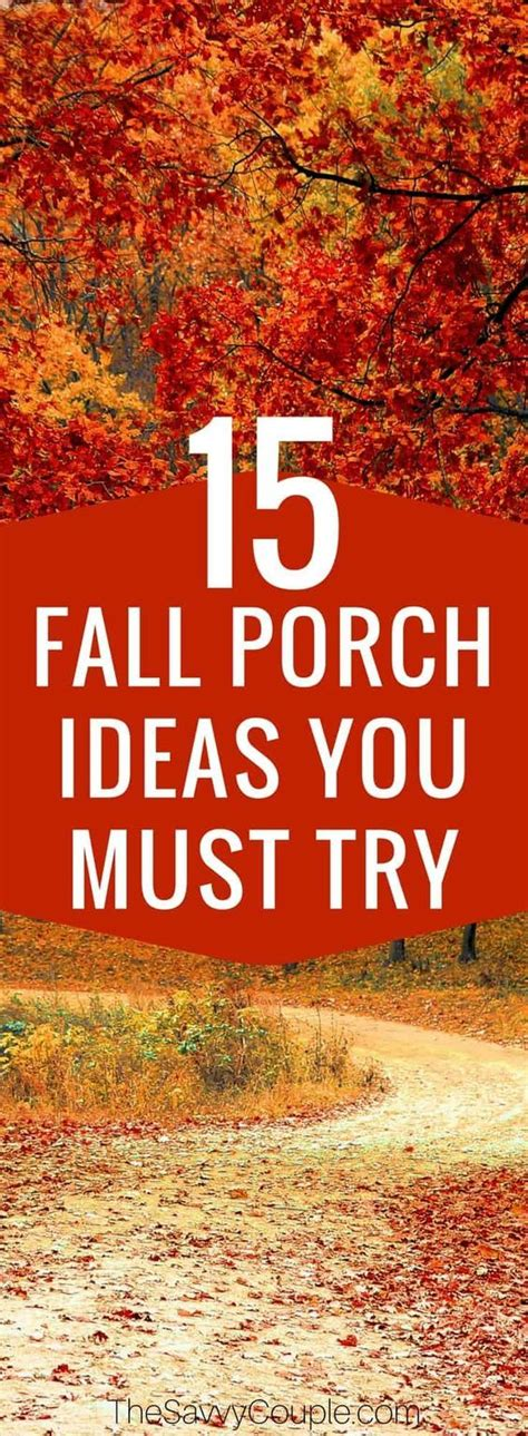 15 Easy Fall Porch Ideas You Need To Try This Fall Fall