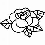 Rose Tattoo Roos Rosa Gratis Tatuagem Svg
