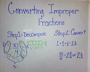 Aha     Converting Improper Fractions To Mixed Numbers