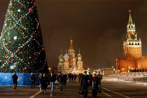 christmas traditions in russia