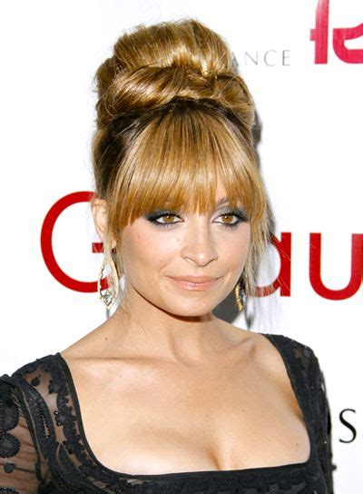 hair styles for hair for 11 best updos with bangs images on wedding 5170