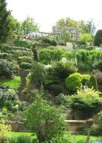 Garden On Steep Slope