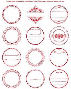 Round labels circular for laser and inkjet printers for Circle printer labels