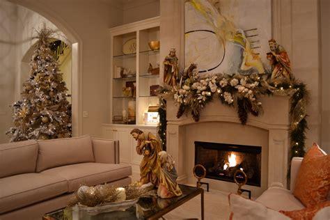 glamorous christmas nativity sets decoration ideas
