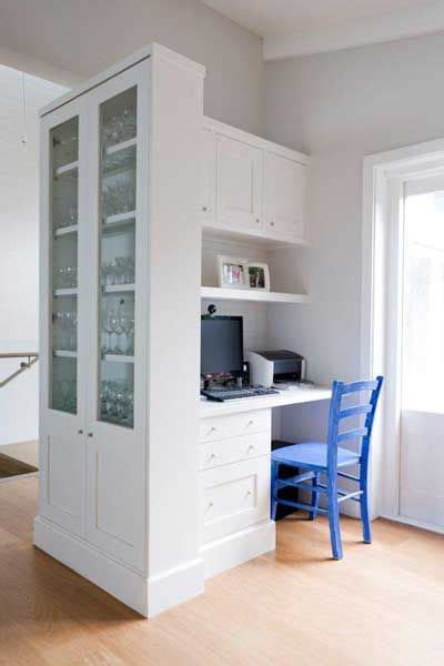 kitchen office nook cabinetries provincial kitchens sydney that s one way to get an office in or near the kitchen