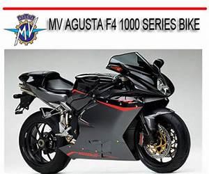 Mv Agusta F4 1000 Series Bike Repair Service Manual