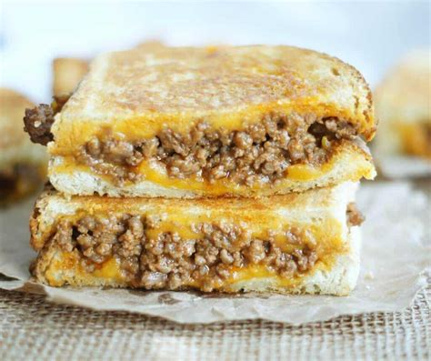 sloppy joe grilled cheese sandwiches   blog recipes