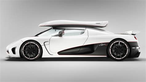 Koenigsegg Agera R With Thule Lightning Winter Package