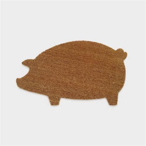 Pig Doormat by Pig Piggy Design Doormat Unique Welcome Door Mat