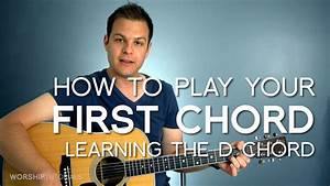Guitar Lesson 01  How To Play Your First Chord