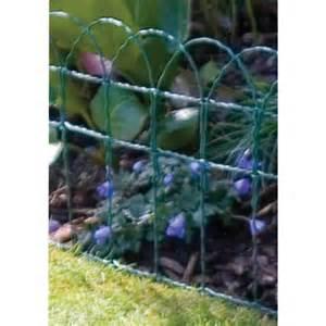 decorative garden border fence