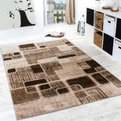 designer teppich wohnzimmer teppich retro muster in braun beige preishammer wohn und - Wohnzimmer Beige Karo