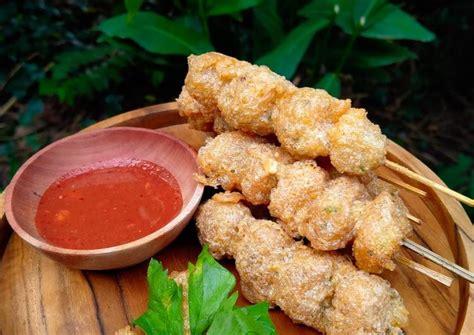 Resep pentol tahu goreng enak dan sederhana. Resep Pentol Goreng Telur oleh Lisa Karina - Cookpad