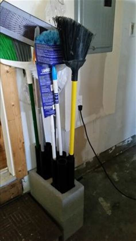 Best Broom and Mop Holder Perfect Garage and Closet
