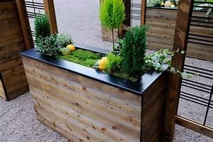Jardinière Brise Vue : jardiniere avec des palettes awesome jardiniere avec ~ Premium-room.com Idées de Décoration