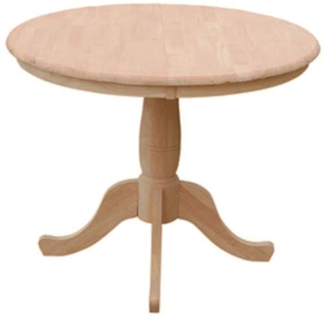 36 X 48 Dining Table With Leaf by 36 Quot Hardwood Table With Leaf Extends To 48 Quot Free