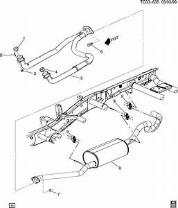 Chevrolet Silverado Seal  Exhaust Pipe  Aero