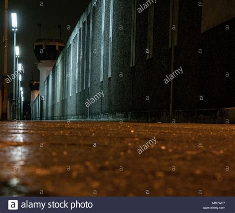 15 march 2018 germany berlin lights brighten the wall