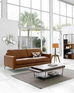 Les Plus Beaux Canapés : canap en cuir design canap d 39 angle en cuir les plus beaux salon canap cuir canap d ~ Melissatoandfro.com Idées de Décoration
