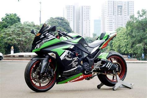 Modifikasi Ninja 250fi Dari Baru Motor Sport, Berkaki Zx