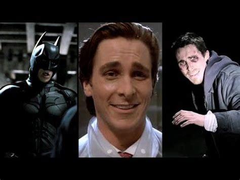 Top Christian Bale Performances Youtube