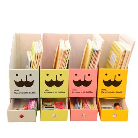 Desk Drawer Organizer Diy by Diy Paper Board Storage Box With Drawer Organizer