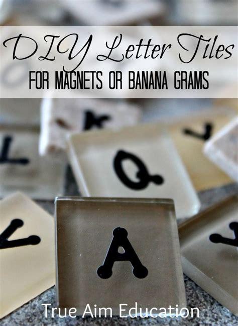 diy bananagrams letter tiles play kitchen sets skee